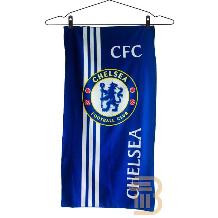 *TUALA CHELSEA *Towel Chelsea Tuala Mandi Serap Air 1 pcs Tuala Bola 140cm x 70cm