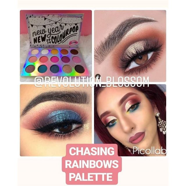 Chasing Rainbows Eyeshadow Palette by Colourpop #4