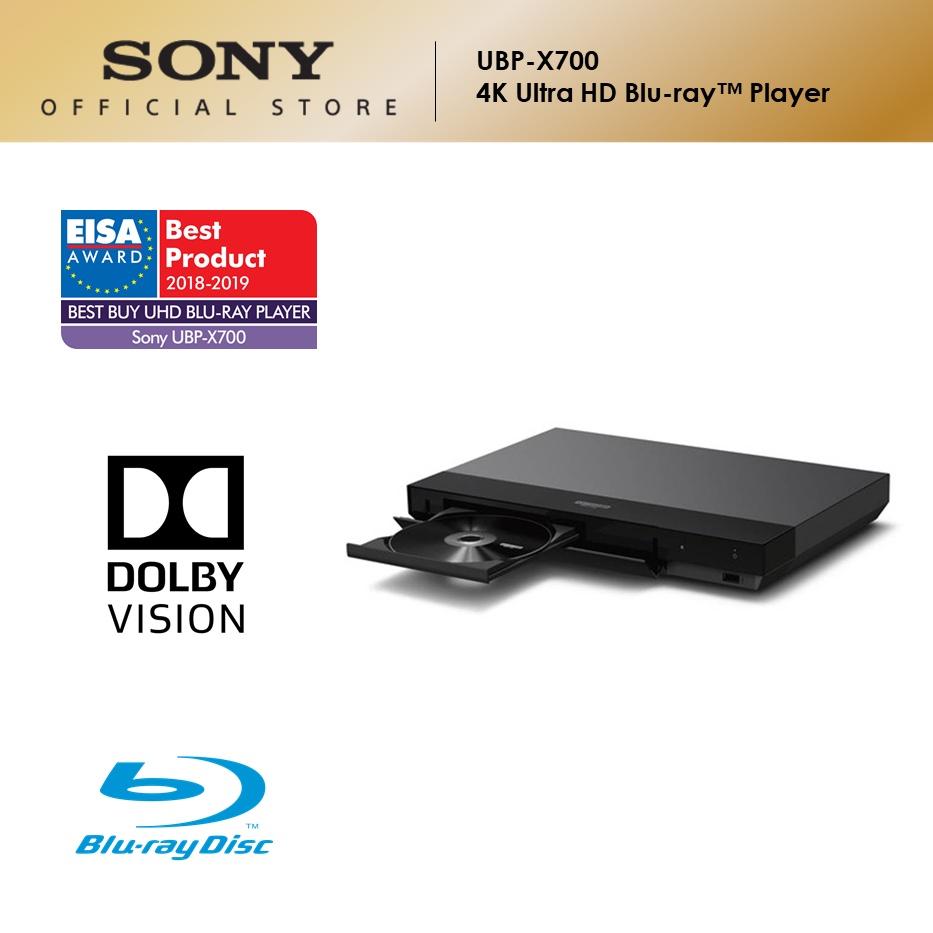 Sony UBP-X700 4K Ultra HD Blu-ray Player with High Resolution Audio