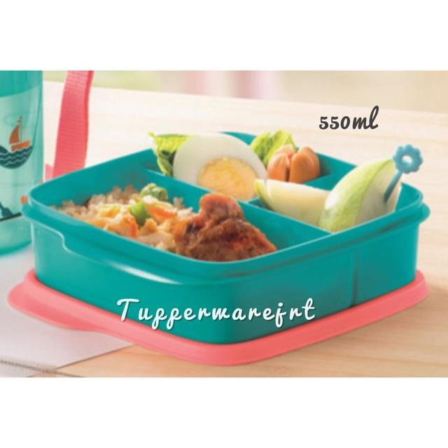 Tupperware Kids Divided Lunch Box 550ml x 1 pc
