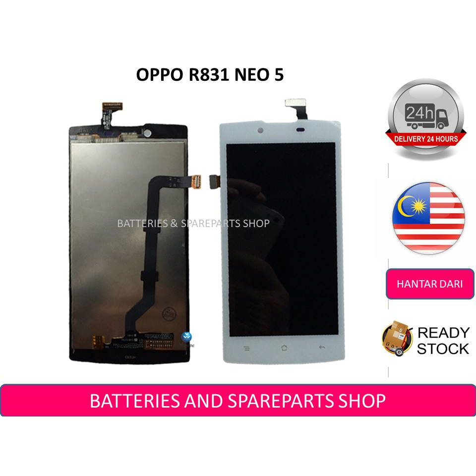 Oppo Neo 5 5s R1201 Lcd Screen Touch Screen Digitizer Full Set