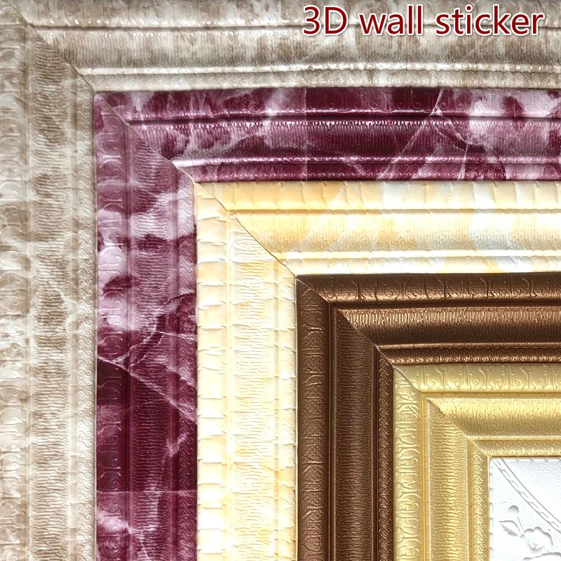 4c7a7345de 3d waistline ceiling decorative strip wall sticker edge stickers border room