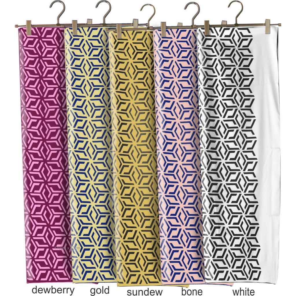 Sawks Hijab Long Shawl - Cubic Design