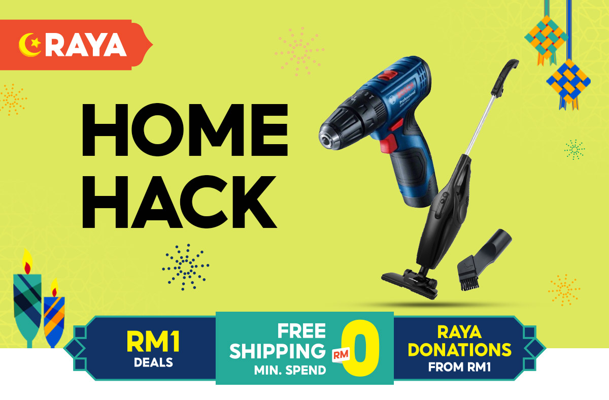 Get ready for Shopee Malaysia's Raya Sale 2021! Enjoy free shipping with a minimum spend of RM0 as well as amazing Ramadan and 5.5 sales that will blow your mind. Not only that, get ready for Hari Raya conveniently and in a budget-friendly way with our RM1 deals and promotions on a variety of fashion, grocery, and home decoration goods!