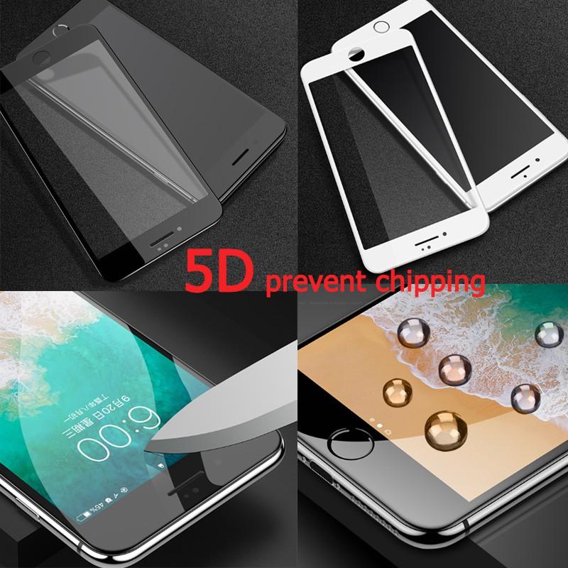【Fast shipping】ฟิล์มกระจก Genuine 5D iphone11 11promax สำหรับ 6 6s 6plus 6splus SE 7plus 8plus X XS XR