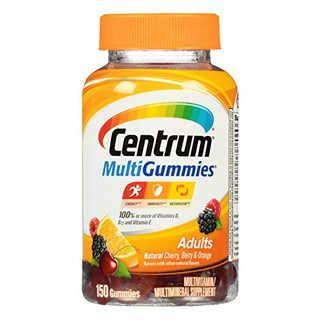 Centrum MultiGummies Adults Multivitamin Multimineral Supplement 150