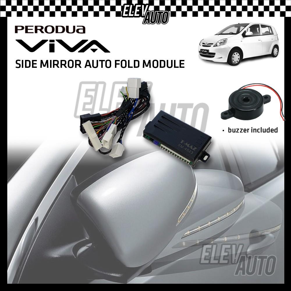 Side Mirror Auto Fold with Buzzer Perodua Viva