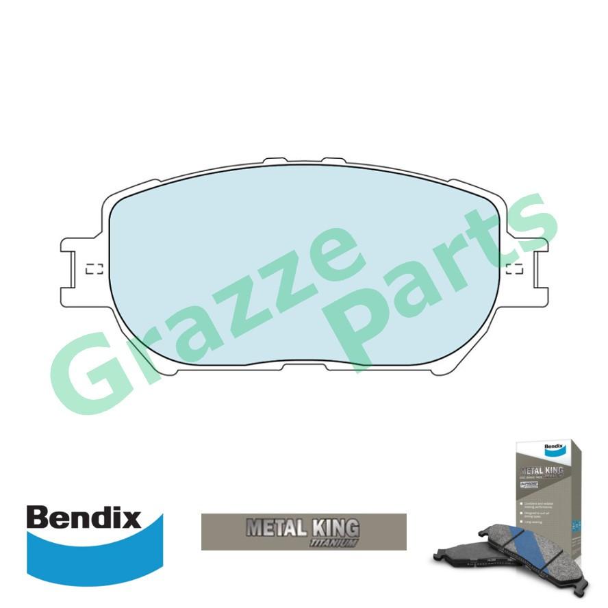 Bendix Metal King Brake Pad Front DB1462 - Toyota Camry ACV30 ACV31 2.0 2.4 Wish