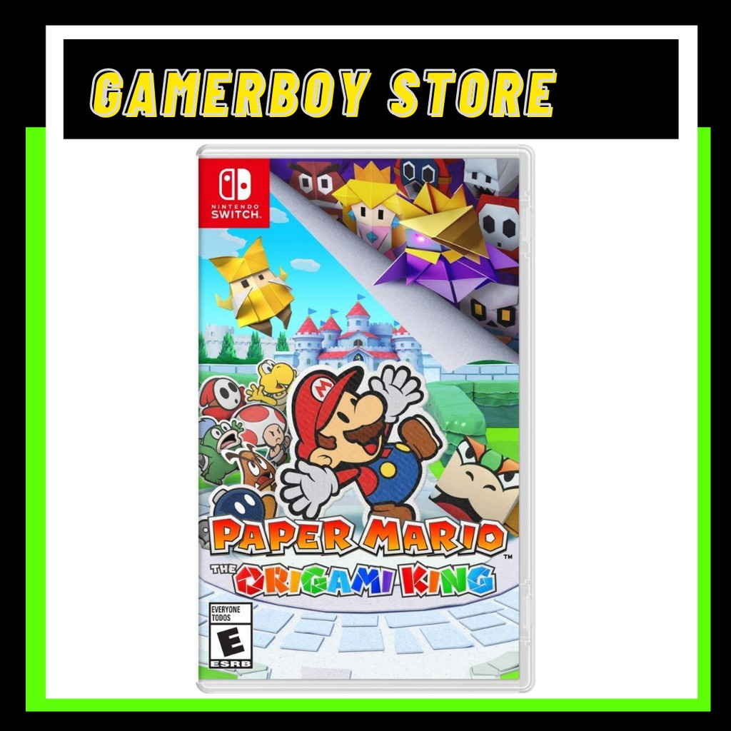 NINTENDO SWITCH PAPER MARIO: THE ORIGAMI KING (PHYSICAL)