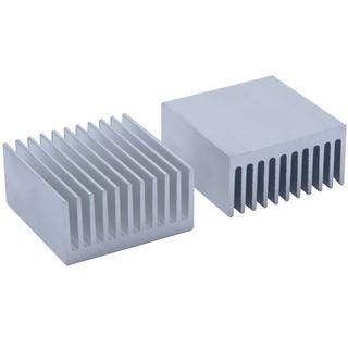 50*58*31.8mm Black Anodized Aluminium Heat Sink Power Transistor//TO-126//TO-220