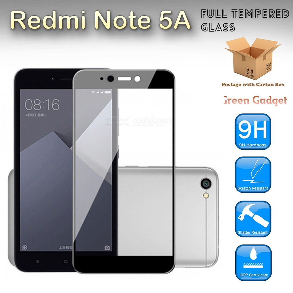 Redmi Note 4 Malaysia Set Full Glue Screen Protector Tempered Glass Color Xiaomi Mediatek Shopee