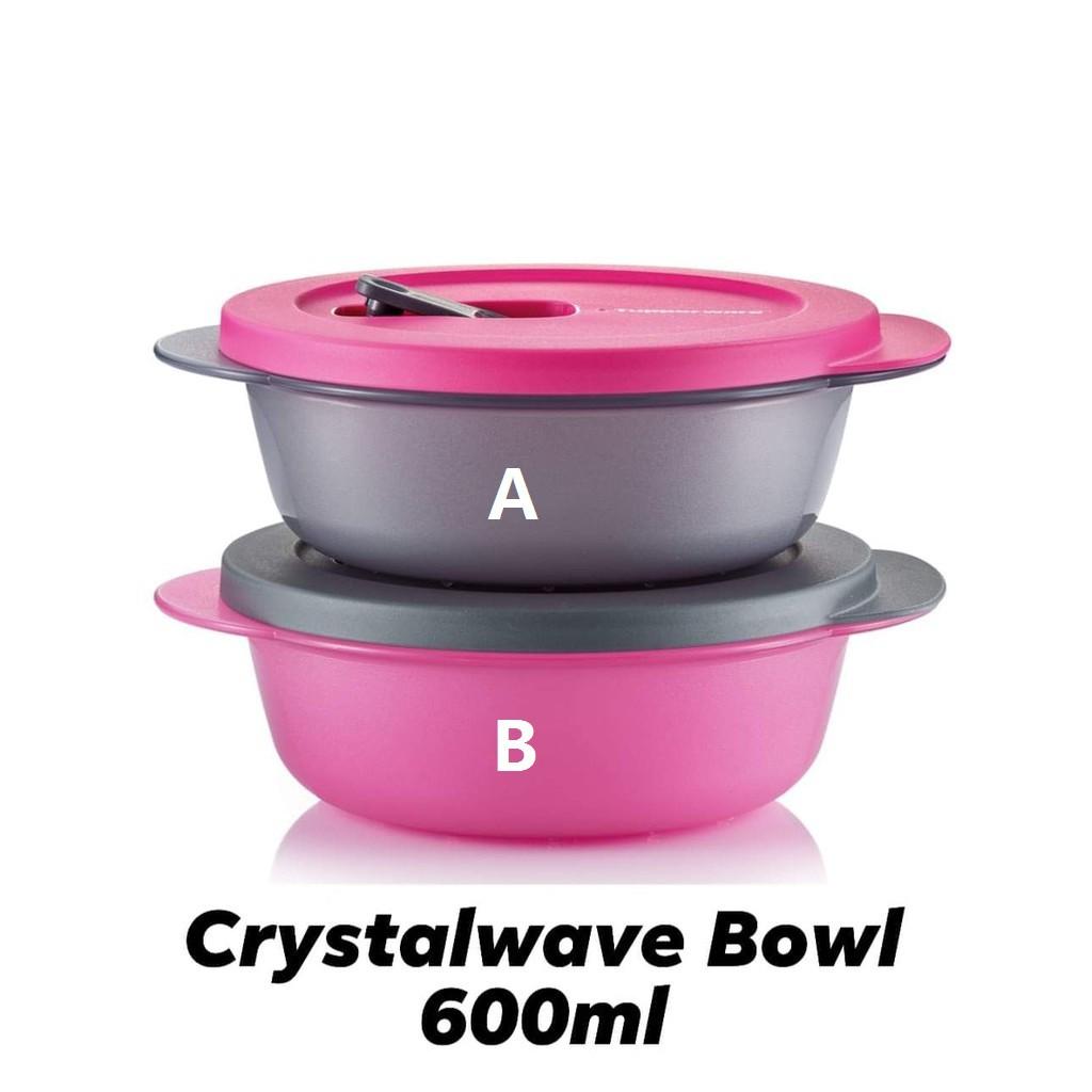 Tupperware Crystalwave Bowl 800ml OR 600ml