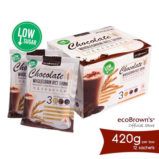 ecoBrown's Chocolate Beverage (Low Sugar) 420g
