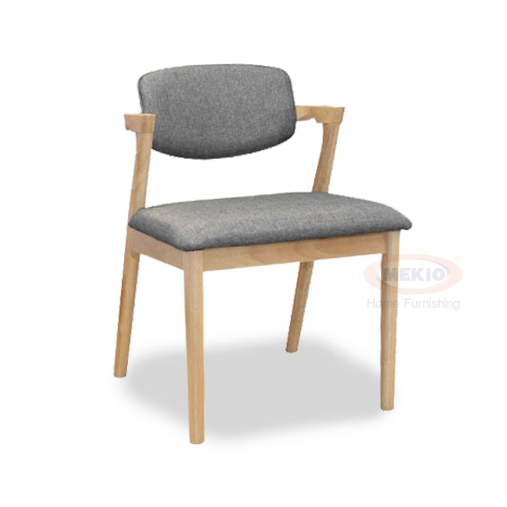 Wooden Arm Chair Kentucky II Natural Oak