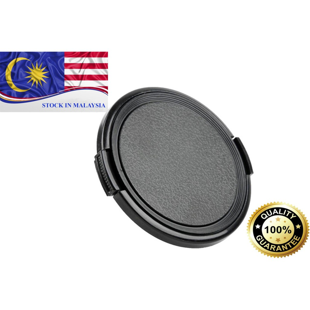 Snap-on Front Lens Cap Cover for DSLR Camera 49mm 52mm 55mm 67mm (Ready Stock In Malaysia)