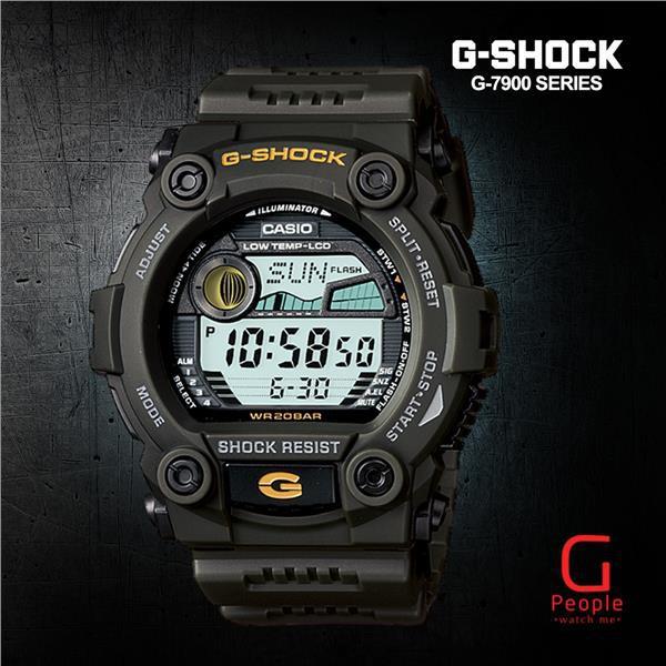 be305e754166 CASIO G-SHOCK G-7900-3DR   G-7900-3D   G-7900-3   G-7900 WATCH 100%  ORIGINAL