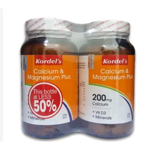 Kordel's Calcium & Magnesium Plus 150+150