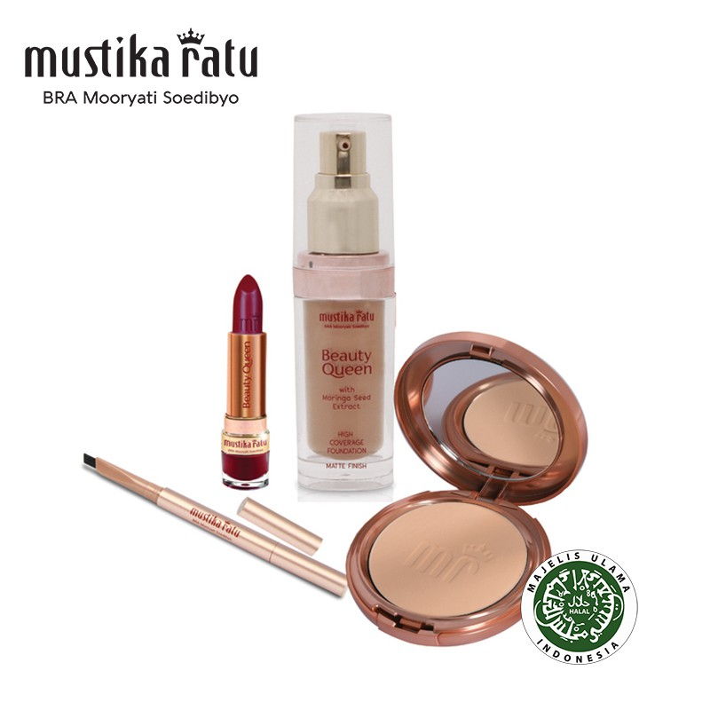 Mustika Ratu Beauty Queen Basic Make up Set for Oily Skin