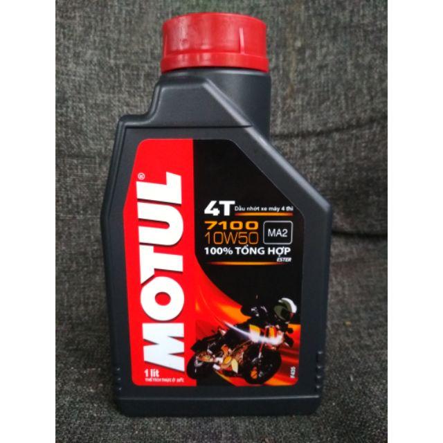 Motul 7100 10w50 Fully Synthetic 100% original vietnam