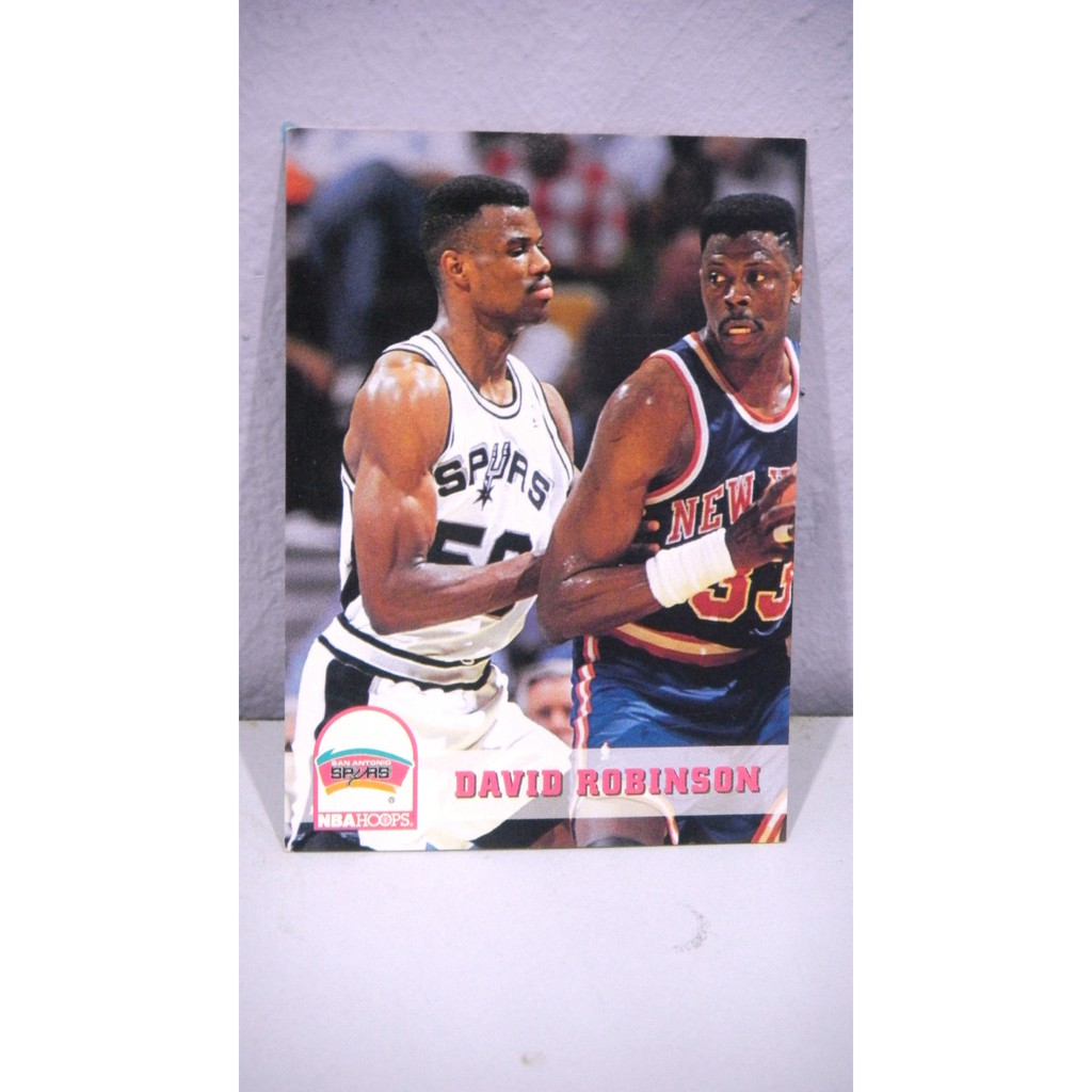 93 94 Hoops 203 David Robinson Nba Trading Card
