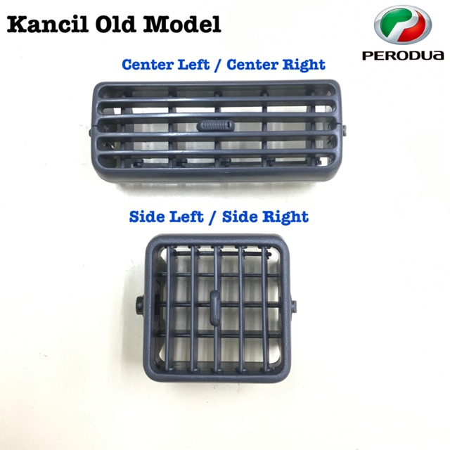 Perodua Kancil Air Cond Grille / Vent / Louver-Old Model