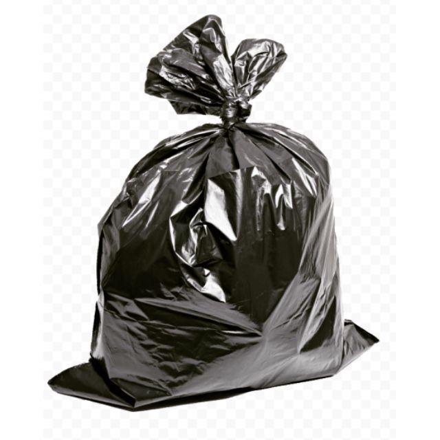 Maxonic 10pcs Heavy Duty Garbage Bag/ Plastik Beg Tong Sampah (30 × 40 Inch)