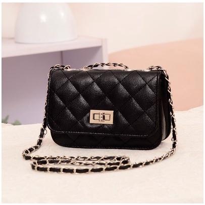 Sling bag Korean fashion embroidery line chain bag Women Messenger shoulder crossbody beg wanita