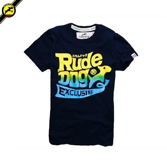 rudedog T-shirt เสื้อยืด รุ่น Bubble สีกรม (LIMITED EDI