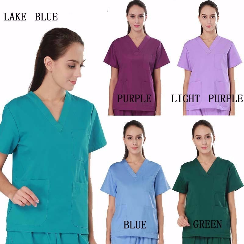 Work Wear & Uniforms Sensible Women And Men Medical Wear Summer Doctor Sets Scrub Nurse Uniforms Hospital Clothing Lab Workwear Top And Pant Cheap Suits Evident Effect Medical