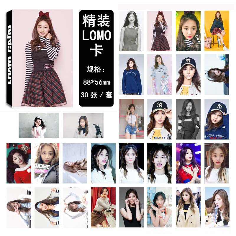 Kpop Got7 Album Mark Lomo Cards K-pop New Fashion Self Made Paper Photo Card Hd Photocard Jewelry Findings & Components