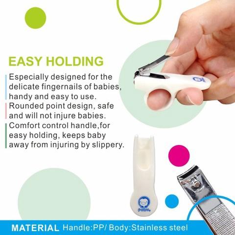 Ready Stock Puku Baby Safety Scissors Nail Clipper 指甲剪 P16706