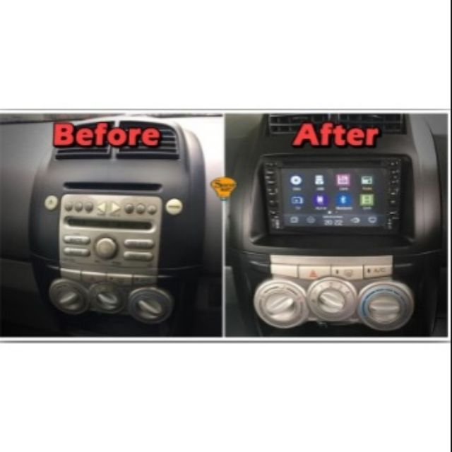 MYVI OLD FIRST GENERATION 3 IN1 SINGLE / DOUBLE DIN DVD ...