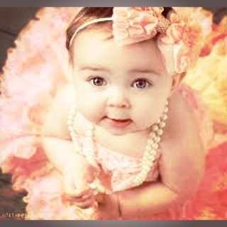 Hawaiian flower baby headband  73297df3e56