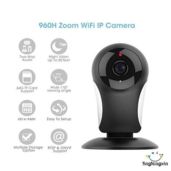 LGG-Wireless Security Camera, 960P HD WiFi IP Camera Home Security  Surveillance