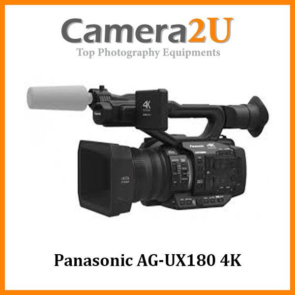 Panasonic AG-UX180 4K Professional Camcorder (MSIA)