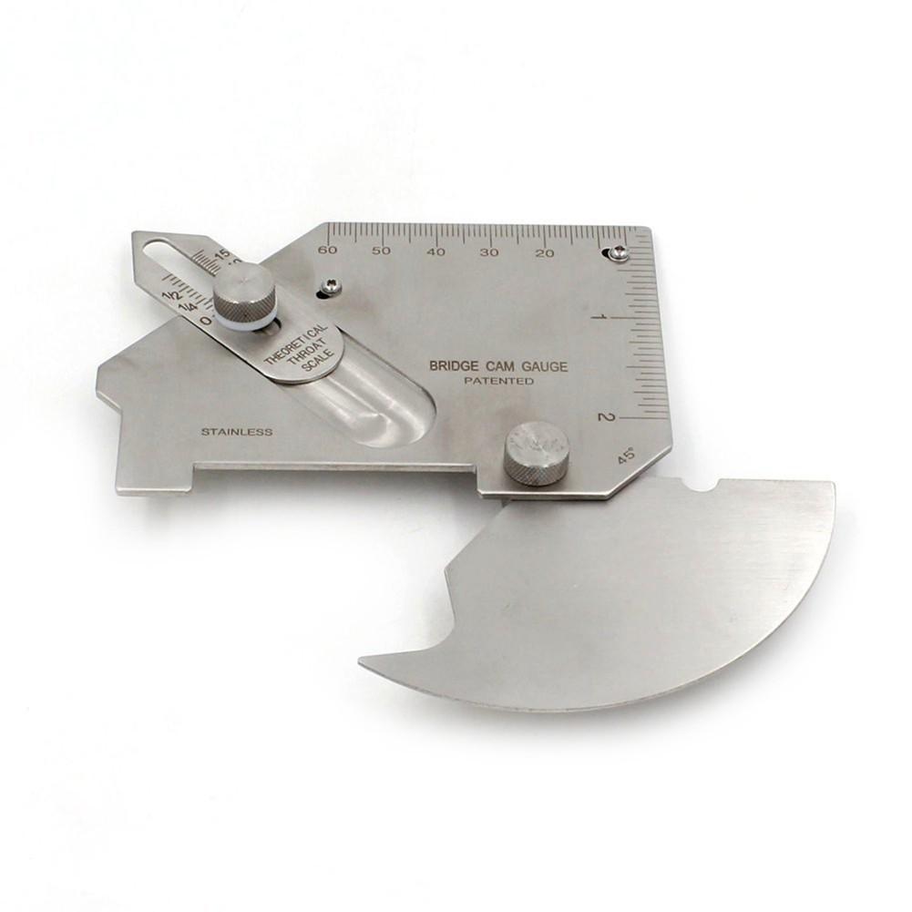 Bridge CAM gage MG-8 welding Gauge Weld seam pit fillet undercut inspection DH