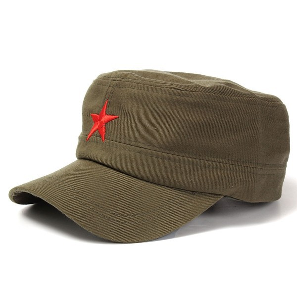 5c1aac5198b Cuba Fidel Castro and Che Guevara Five - pointed star cap Red Army hat
