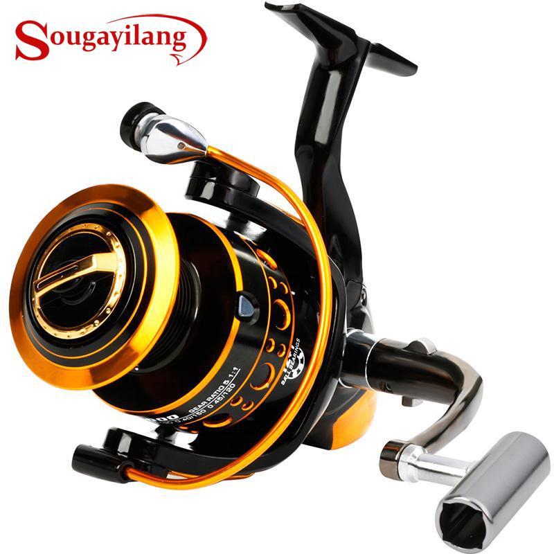 Sougayilang Full Metal Fishing Reel 12+1BB Spinning Reel