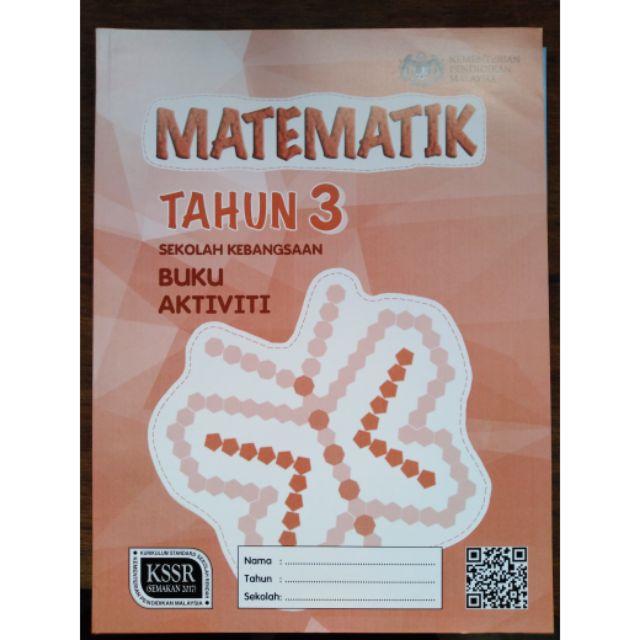 Buku Aktiviti Matematik Tahun 3 Shopee Malaysia