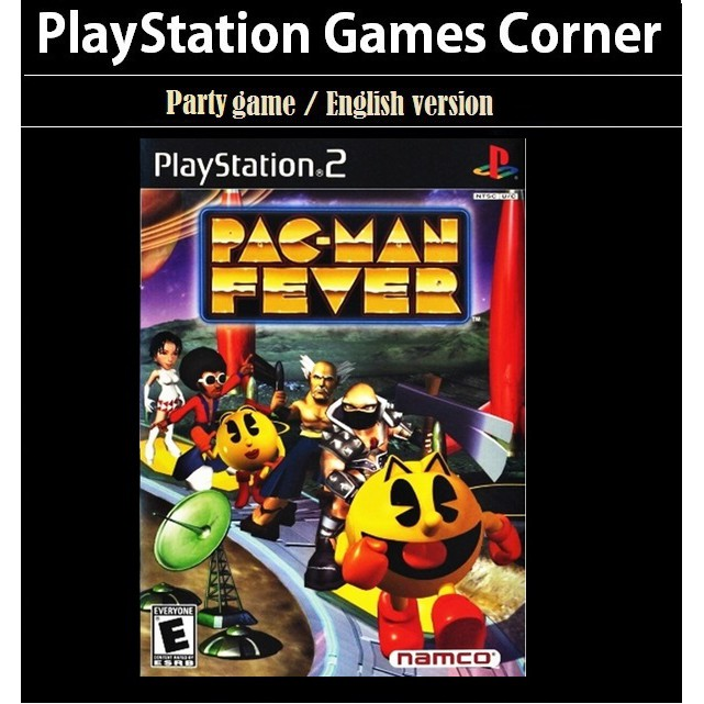 PS2 Game Pac Man World Fever, Party Game, English version / PlayStation 2