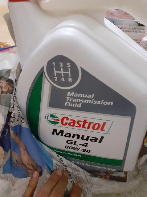 Castrol Gear Oil - Manual GL4 80W 90 Wholesale Trader from ...