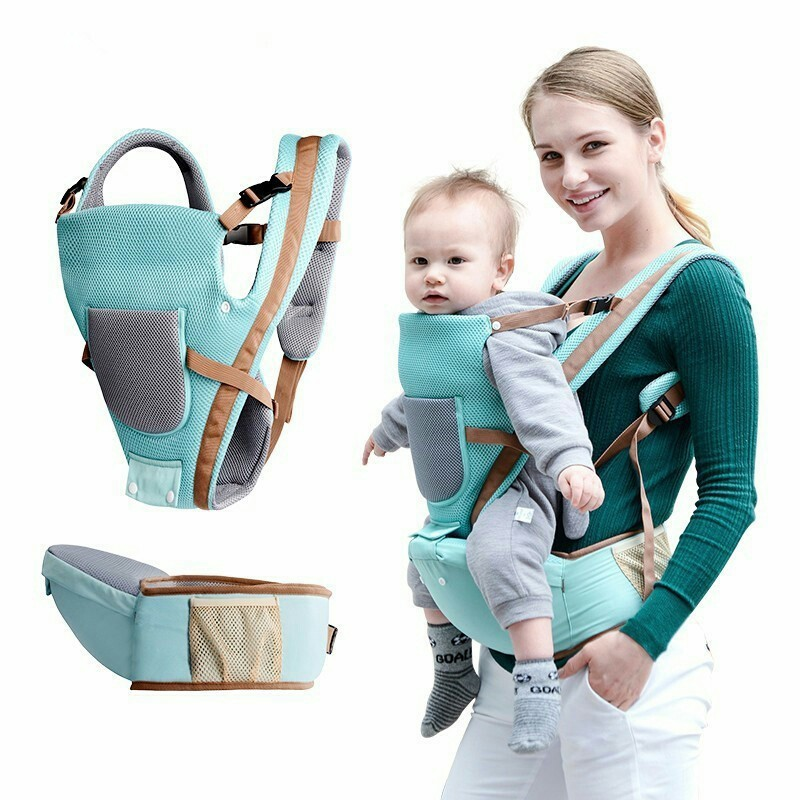 2019 Ergonomic Baby Carrier 0 To 48 Month Storage Hipseat Baby Backpack Sling Windproof Infant Baby Kangaroo Newborn Suspender Activity & Gear Mother & Kids