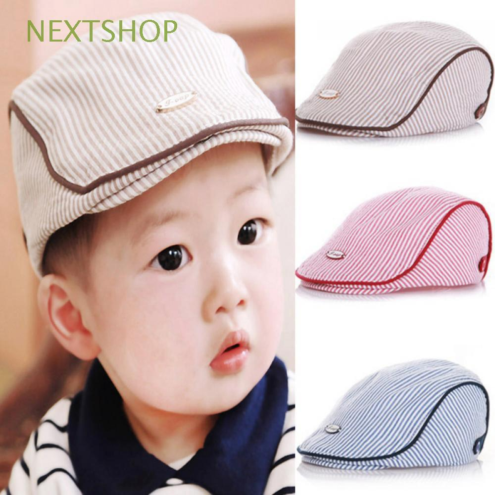 48ac6f5af Children Boys Girls Baseball Peaked Baby Kids Beret Cap | Shopee ...