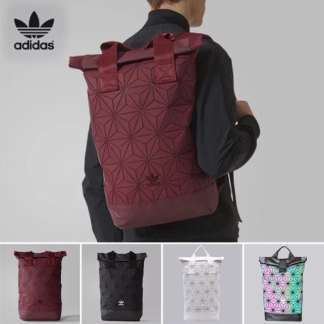 a36b4bca8aae Limited Edition Adidas x Issey Miyake 3D Urban Mesh Roll Up Backpack Bag