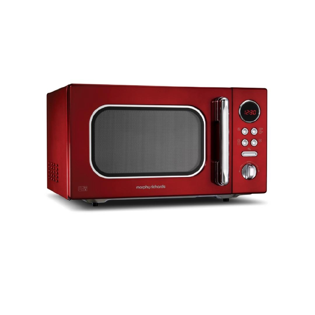 Morphy Richards Accents Microwave - Red (23L) 511512