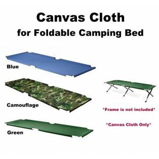 READY STOCK MALAYSIA Portable Foldable Camping Bed Cot with Bag Camouflage Military Army Katil Lipat Askar Celoreng