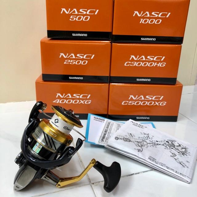 Shimano Reel 16 NASCI 4000XG Spinning Reel New Free Shipping