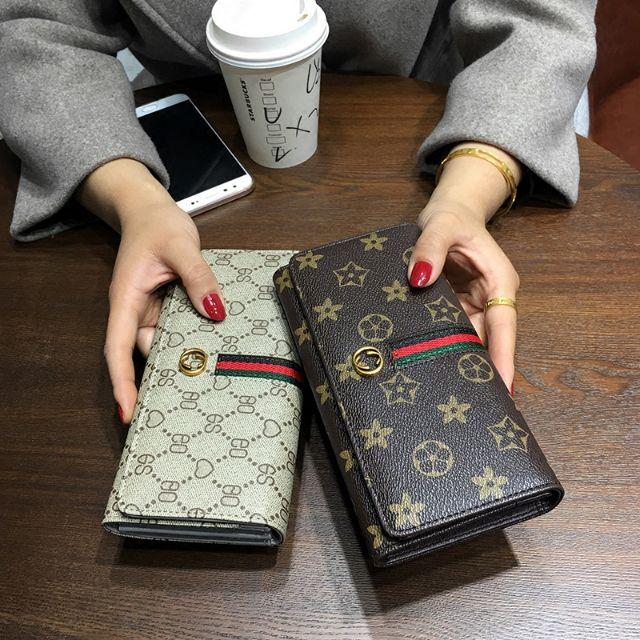 Ready StockWallet Korean long new small lady purse