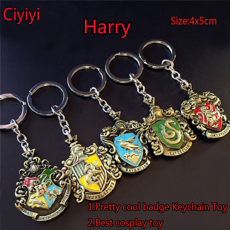 Action & Toy Figures Harry Hogwarts Magic Spells Insignia Knitted Beaded Bracelet Pendant Gift Potter Western Anime Cartoon Toys For Children