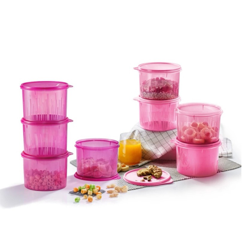 [READY STOCK] Tupperware Snack N Stack Set with PWP